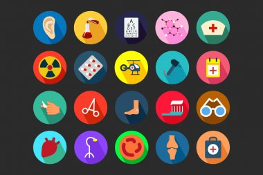 Medical Flat Colored Icons 4