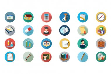 Education Vector Flat Icons 5