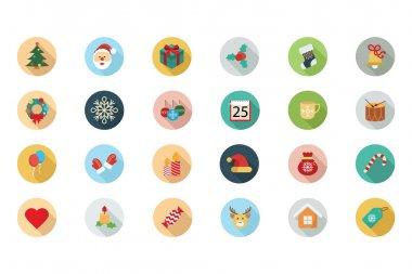 Christmas Vector Flat Icons 1