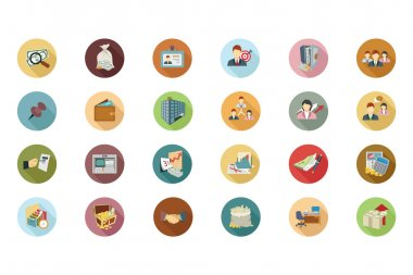 Financial Vector Flat Icons 3