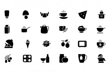 Food Vector Solid Icons 9