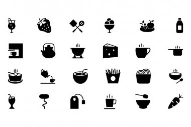 Food Vector Solid Icons 4