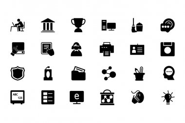 Education Vector Solid Icons 4