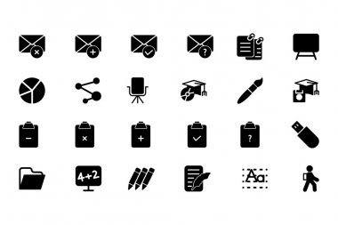 Education Vector Solid Icons 8