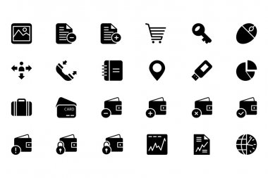 Finance Vector Solid Icons 5