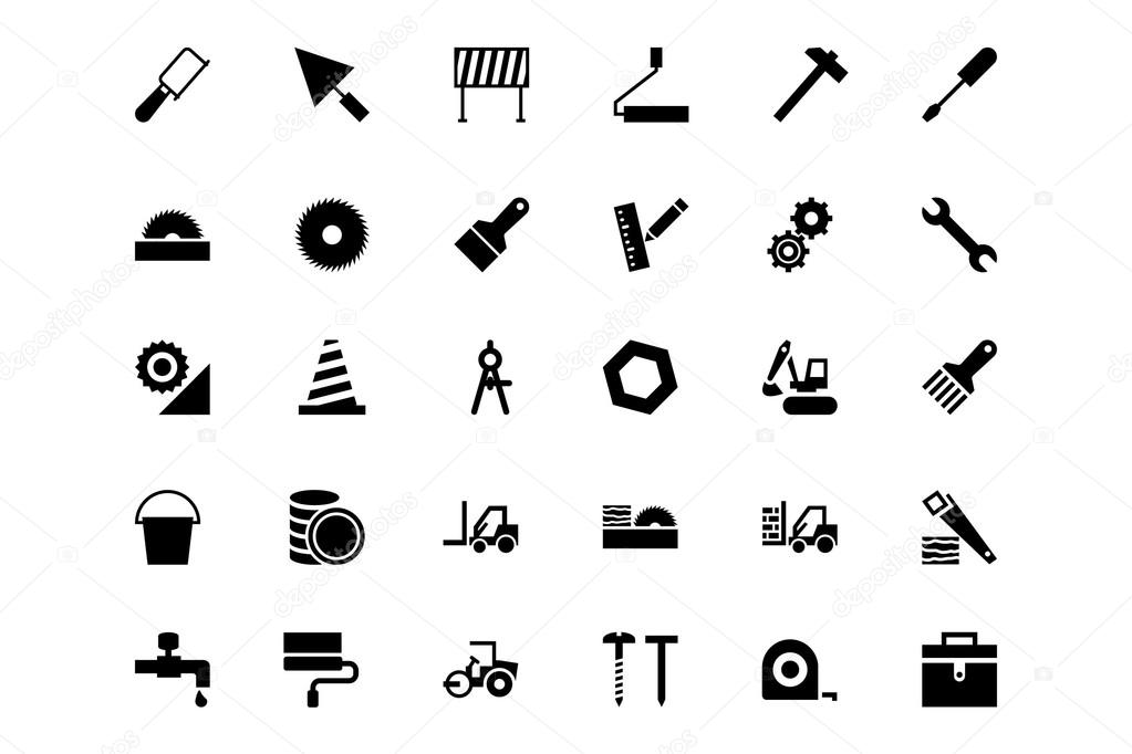 Construction Vector Icons 3