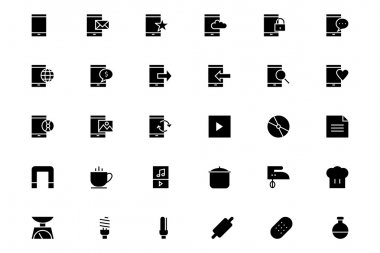 Universal Mobile Vector Icons 14