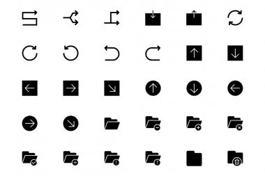 Universal Mobile Vector Icons 12