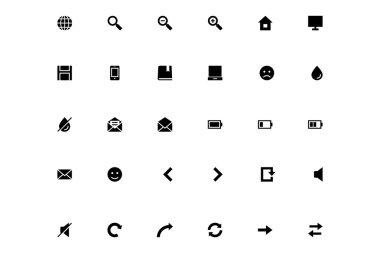 Mini Vector Icons 1