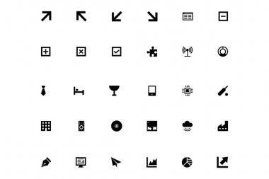 Mini Vector Icons 6