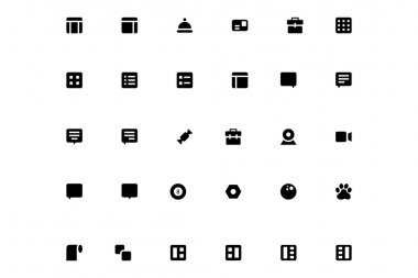 Mini Vector Icons 27