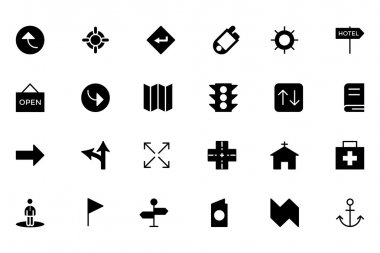 Map and Navigation Vector Icons 5