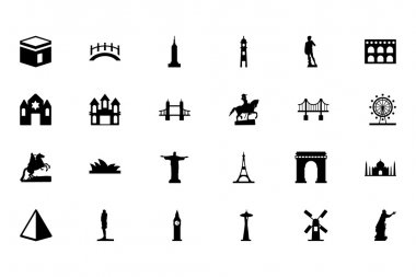 Check out this Monuments Vector Pack! All these icons represent well-known monuments from somewhere around the world. icon