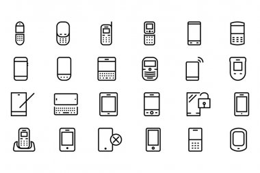 Get connected and stay connected with this Mobile Vector Pack! Use these vectors in your mobile and technology related project. clip art vector