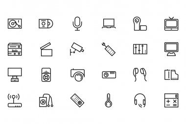 Gadgets Vector Line Icons 2