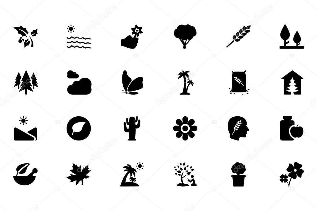 Nature Vector Icons 7