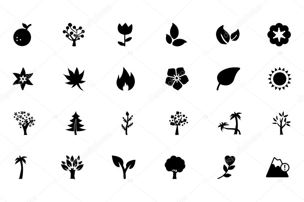 Nature Vector Icons 3