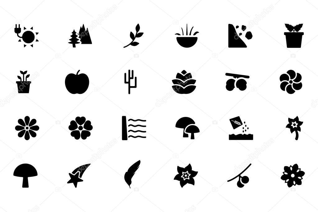 Nature Vector Icons 6