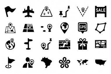 Maps And Navigation Vector Icons 5