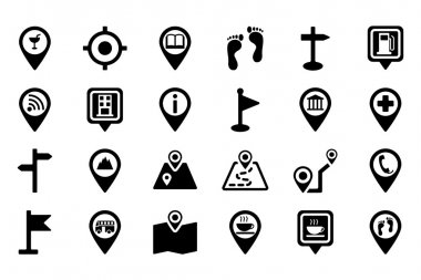 Maps And Navigation Vector Icons 2