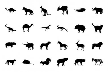 Animal Vector Icons 2