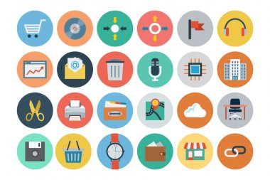 Office Flat Icons 4