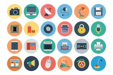 Electronics Flat Icons 1