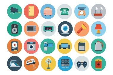 Electronics Flat Icons 2