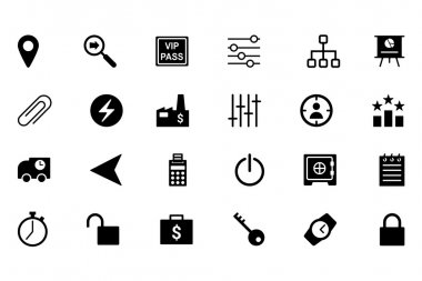 Business Vector Icons 4