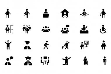 People Vector Icons 1