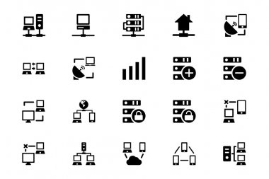 Networking Vector Icons 3