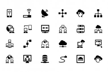 Networking Vector Icons 1
