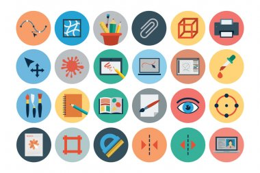 Flat Design Vector Icons 3