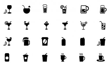 Drinks Vector Icons 2