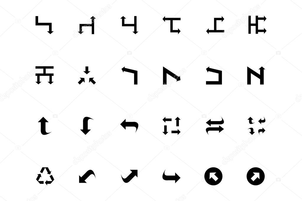 Arrows Vector Icons 8