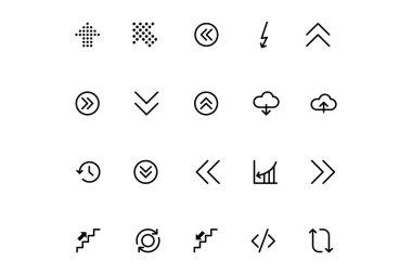 Arrows Vector Icons 18