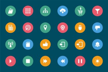Web and Mobile Vector Icons 4