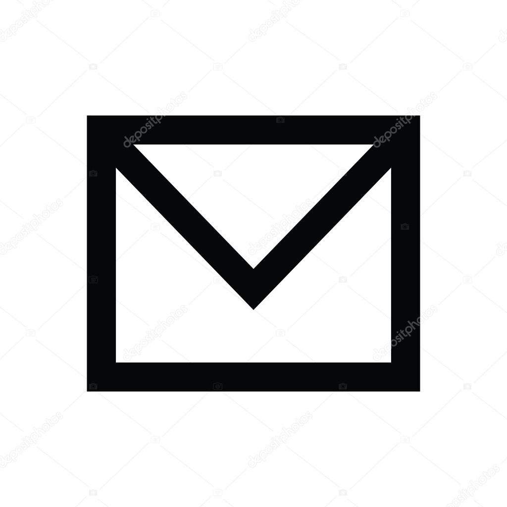 email vector icon stock vector creativestall 80562994 rh depositphotos com email icons vector free download email vector icon png