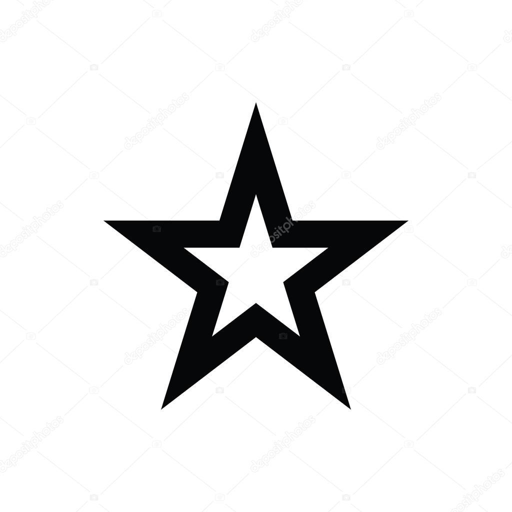 Vector: star | Star Vector Icon — Stock Vector