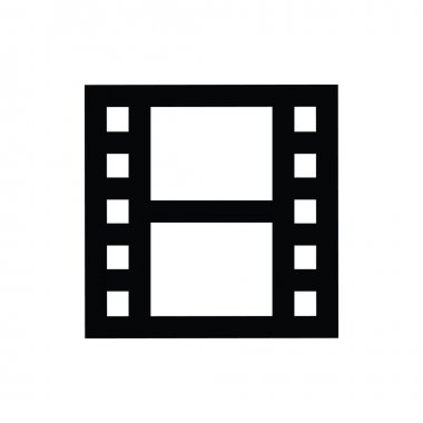 Film Strip Vector Icon