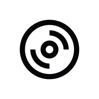 CD Vector Icon