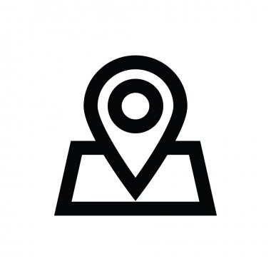 Map Pin Vector Icon
