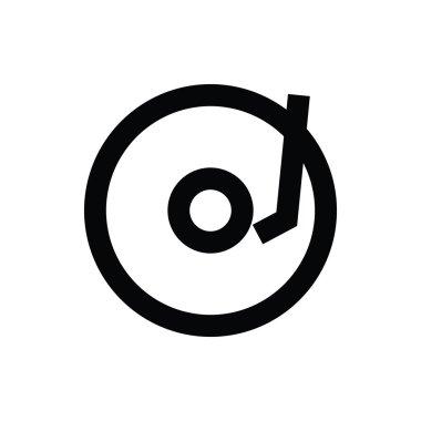 Vinyl Vector Icon