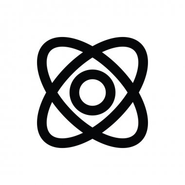 Electron Vector Icon