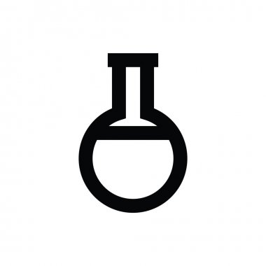Erlenmeyer flask Vector Icon