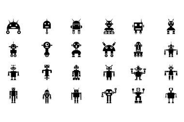 Robots Vector Icons 1