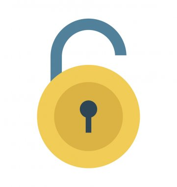 Lock Vector Illustration