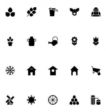 Agriculture Vector Icons 1