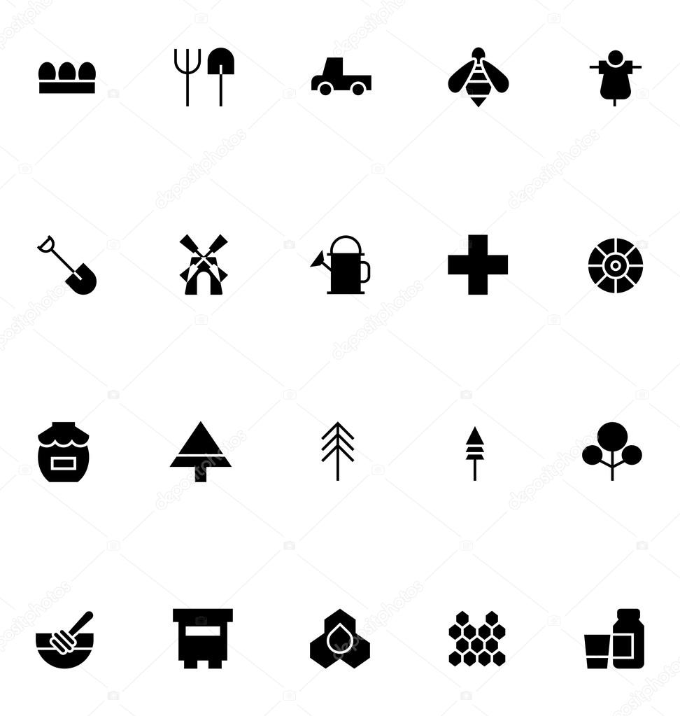 Agriculture Vector Icons 3
