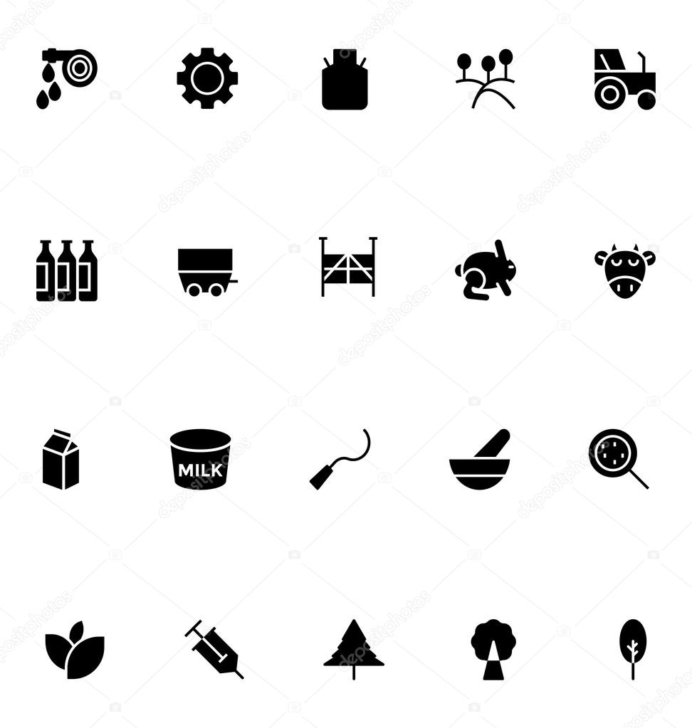 Agriculture Vector Icons 5